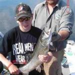 Gods Lake Fishing Guest