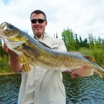 Walleye Gods Lake 2011
