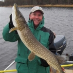 Trophy Pike Fish - Gods Lake