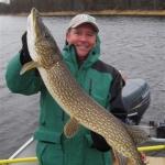 Trophy Pike Fish - Gods Lake
