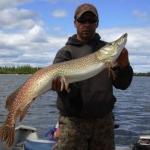 Pike Fishing Gods Lake