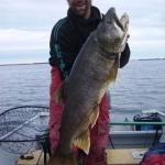 Biggest Trout - Gods Lake