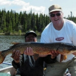 Gods Lake Pike Fishing