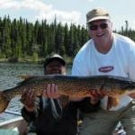 Gods Lake Pike Fishing
