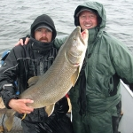 Gods Lake Trout Catch