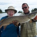 Pike Fishing Manitoba