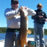 Pike Fishing Gods Lake MB