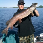 Large Pike - Gods Lake