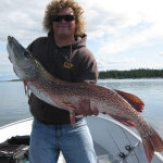 Large Pike Gods Lake
