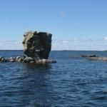 Gods Lake Rock Head