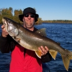 Trophy Lake Trout Gods Lake