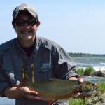 Fishing Gods Lake Manitoba