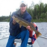 Trout Fishing - Gods Lake